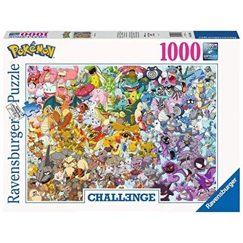 Ravensburger Puzzle, Puzzle 1000 Pezzi, Pokemon, Puzzle per Adulti, Collezione Challenge, Puzzle Impossibili, Puzzle Ravensburger - Stampa di Alta Qualità