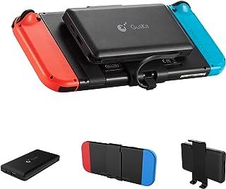 GULIkit Power Bank 10 000 mAh externt batteri för Nintendo Switch och mobiltelefoner, kompakt resesäkerhetskopieringsbatte...
