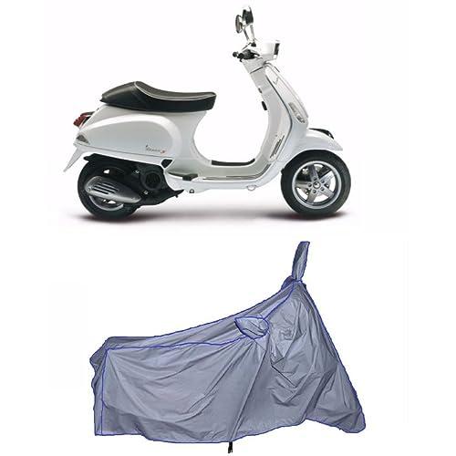 MotRoX Ultrathin Japanese Silver Two Wheeler Cover for Piaggio Piaggio Vespa (100% Waterproof Fabric)