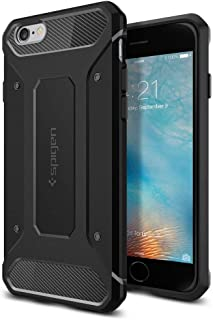 Spigen iPhone 6S / 6 Capsule Rugged Armor Cover/Case - Black