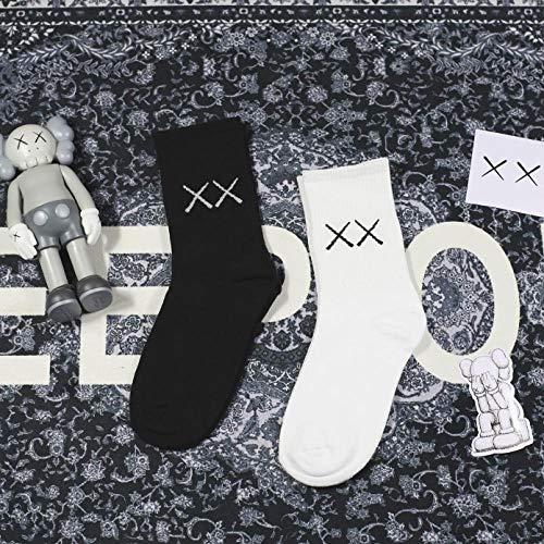 Fang Running Sport, sokken van wild, Koreaanse sokken voor heren en dames, 6 paar, comfortabel en ademend
