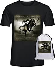A Pale Horse Named Death And Hell Will Follow Me Tees Men Aldult Black