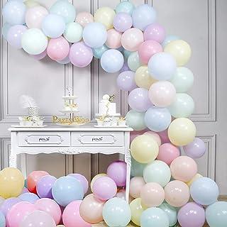 Globo Garland Arch Kit Decoraciones de cumpleaños en colores pastel Globos Macaron Globo de látex para cumpleaños Fiesta d...