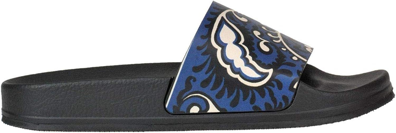 Red Valentino Women's MCGLCAB000005111E bluee Rubber Sandals