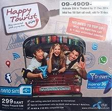 Thailand Mobile Phone Tourist NANO SIM. 7 Days Unlimited 3G Internet. Prepaid. Credit preloaded. Works on arrival.