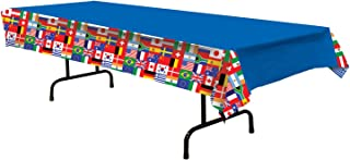 International Flag Tablecover Party Accessory (1 count) (1/Pkg)