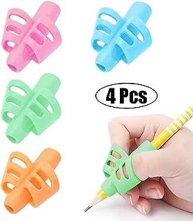 Pencil Grips – BUSHIBU Children Pen Writing Aid Grip Set Posture Correction Tool..