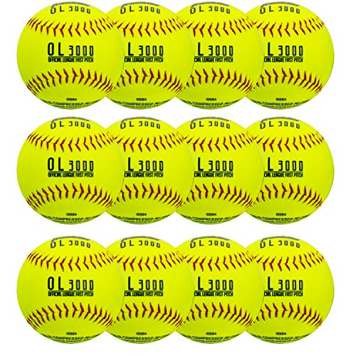 """Franklin Sports 12"""" Tournament Play Fastpitch Softballs 12-Pack Now $25.64 (Was $53.99)"""