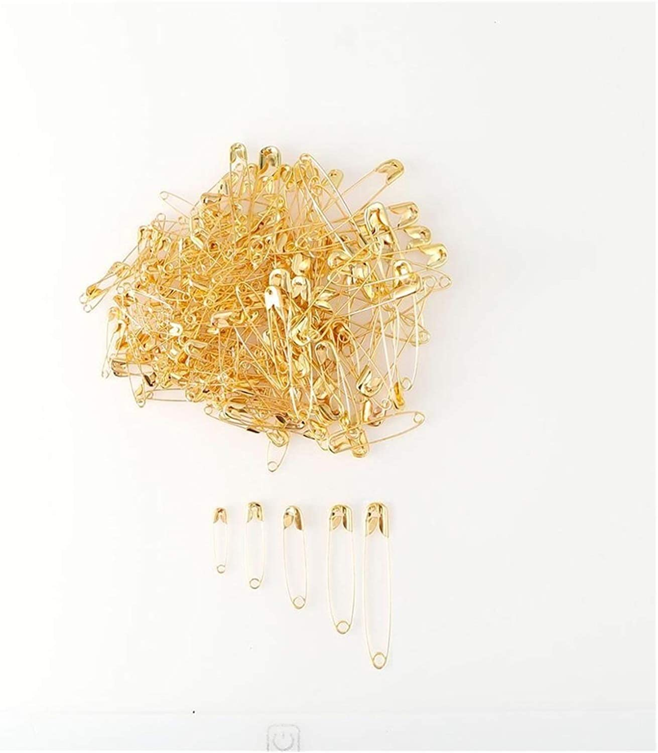 Shop-PEJ DIY 1000Pcs 22 Tampa OFFicial shop Mall 28 38 45 P Gold Small Silver Safety 54mm