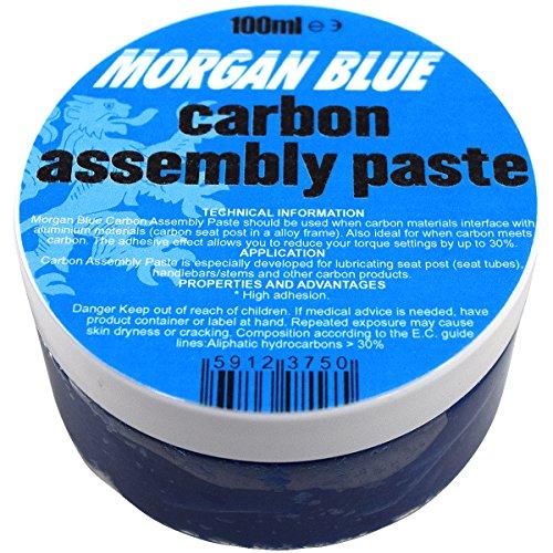 MORGAN BLUE(モーガンブルー) グリス カーボンアッセンブリーペースト [carbon assembly paste] 100ml カーボンパーツの締付部分に最適