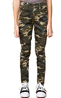 Hayden Camo Print Jeggings with Pockets