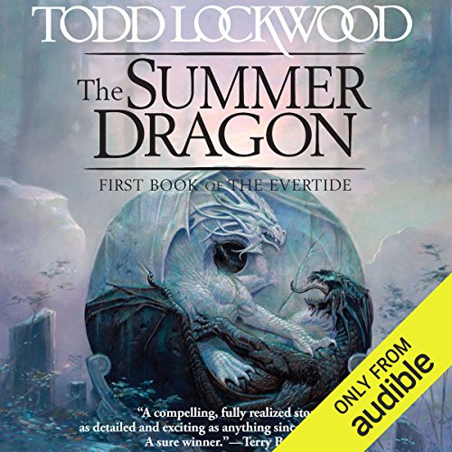 The Summer Dragon audiobook cover art