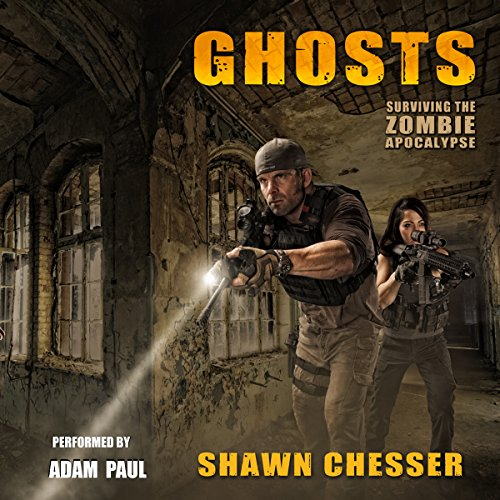 Ghosts audiobook cover art