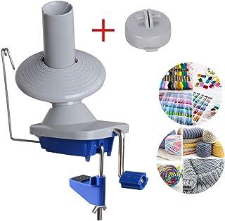 玉巻き器 糸巻き器 金属製ハンドル ラバーマット付き 糸巻き機 毛糸 手芸 説明書付き 使いやすい