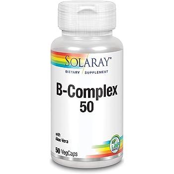 Vitamina B-50, 100 Tabletas - Complejo de Vitamina B de Alta Dosis ...