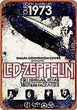 Fsdva 8 x 12 Metal Sign - Zeppelin in Dallas...