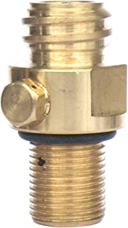 CO2 Tank Brass Soda Stream Pin Valve, Soda Water Inflation Valve Gas Valve Replacement Pin Part(Copper)