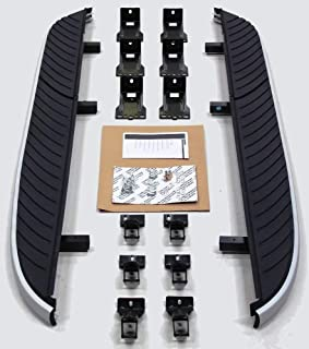 FD Pair Set of Running Board for 08-15 Land Rover Freelander-2 LR2 Foot Side Step Rail Bar