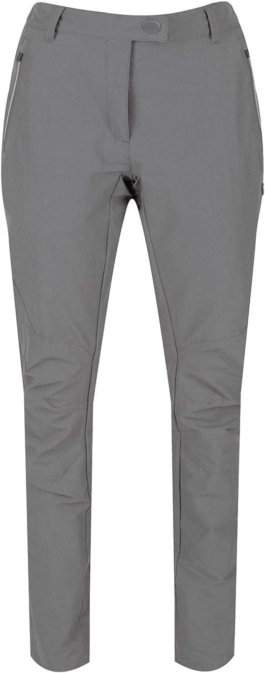 Regatta Womens Highton Pantal/ón Tejido El/ástico Isotex Impermeable Straight