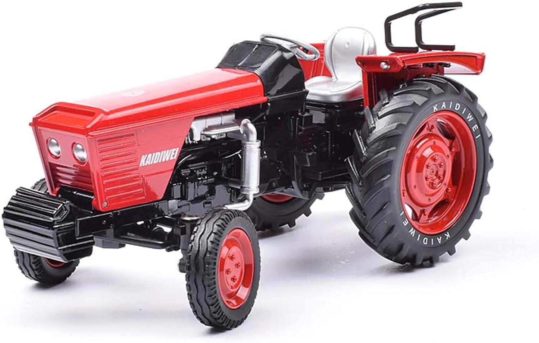 Farm Tractor Transporter Legierungstechnik Fahrzeug Spielzeug Modell, Traktor Spielzeug Modell Simulation Landwirtschaftliche Transportfahrzeug Landwirtschaft Hand Traktor Traktor Junge Spielzeug