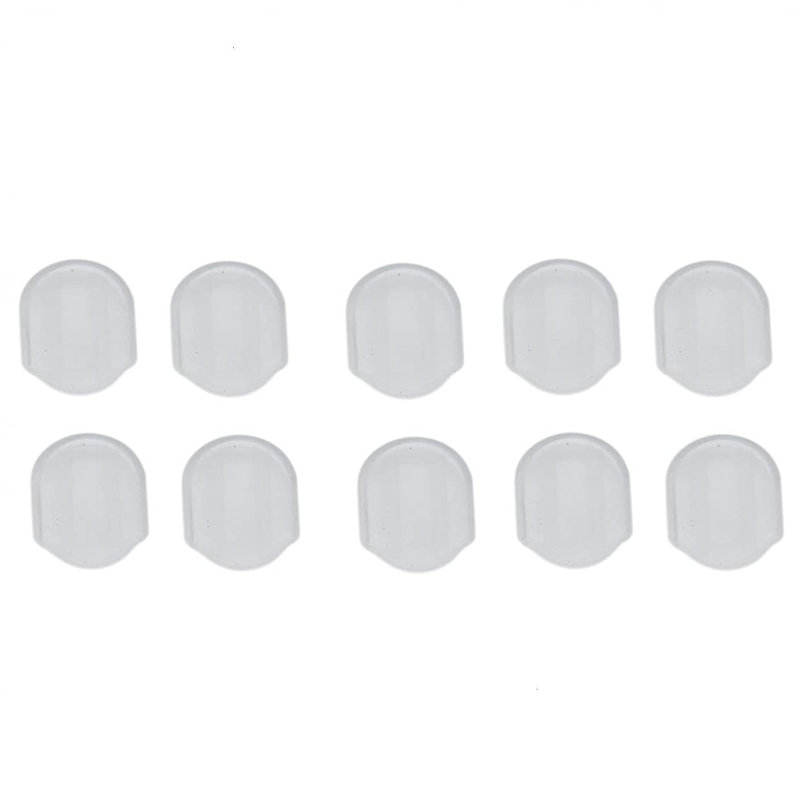 IDS 30PCS Comfort Pads for Clip On Earrings Silicone Earring Pads Cushion For Clip Back Earrings