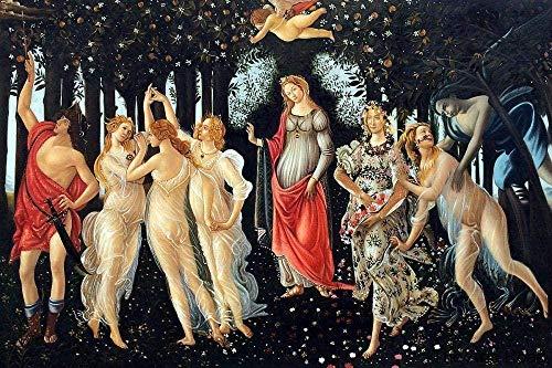 XXJJZON Puzzle in Legno,Adulto e Bambino Alessandro Botticelli Ritratto Fai da Te Puzzle in Legno Decorazioni per la casa in Stile