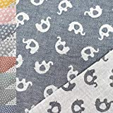 MAGAM-Stoffe Claire Jacquard Kinder Stoff Baumwolle