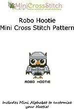 Hootie Robo Mini Cross Stitch Pattern