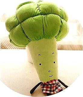 かわいい野菜ぬいぐるみトウモロコシカボチャブロッコリー人形子供のおもちゃ枕人形,ウエスタンブルーの花,説明を参照