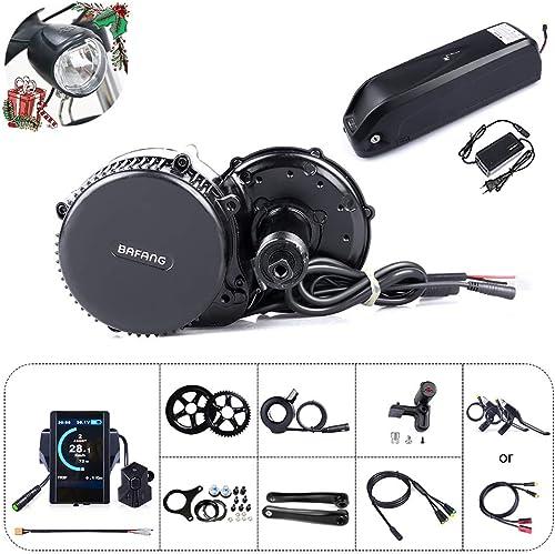 Bafang 8fun - Motor eléctrico para acoplar a bicicleta, tracción central, 48 V, 750 W, 25 A, kit de conversión BBS02: Amazon.es: Deportes y aire libre