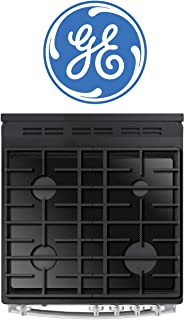 FireFly Home Stove Top Protector for General Electric GE Gas Range Stove Top, Custom Fit Ultra Thin Reusable Burner Splatter Spill Guard Protective Cover Liner - JGB860SEJSS