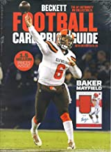 2019-20 Beckett Football Card Price Guide Magazine 36th Edition Browns Baker Mayfield
