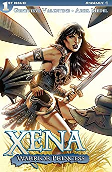 Xena: Warrior Princess (2016) #1: Digital Exclusive Edition by [Genevieve Valentine, Ariel Medel]
