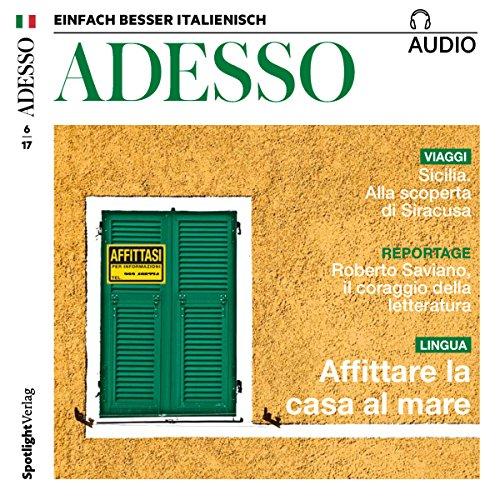 ADESSO audio - Affitare la casa al mare. 6/2017 audiobook cover art