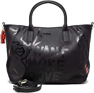 Luxury Fashion   Desigual Womens 19WAXPABBLACK Black Handbag   Fall Winter 19