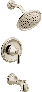 Moen T2313EPNL Belfield Posi-Temp Eco-Performance Tub and Shower Trim Kit, Valve Required, Polished Nickel