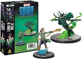 Atomic Mass Marvel Crisis Protocol: Loki and Hela, Various (CP12en)