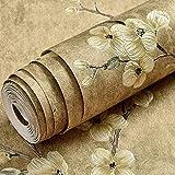 ACCEY Tablero de papel tapiz montado en la pared papel pintado autoadhesivo dormitorio cálido estilo europeo lujo autoadhesivo alquiler de papel tapiz chica barata cálido A2305