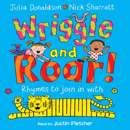 Wriggle and Roar audiobook cover art