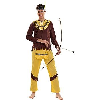 DISFRAZ DE INDIO PARA HOMBRE TALLA STANDAR (M-L)=(52-54): Amazon ...