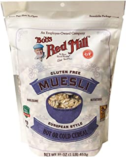 Bob's Red Mill New European Style Hot or Cold Cereal Museli 14oz, 1 Pack (Original)