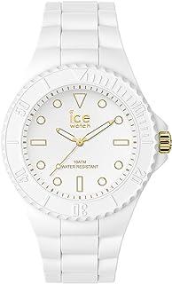 Ice-Watch - Ice Generation White Gold - Montre Blanche pour Femme avec Bracelet en Silicone - 019152 (Medium)