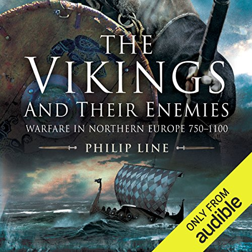The Vikings and Their Enemies audiobook cover art