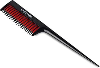 Hair Tamer Black Double Rack Tail Comb
