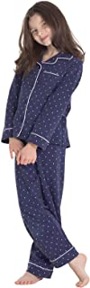 Classic Button-Front PJs - Girls