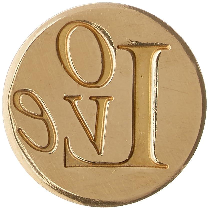 Manuscript Pen 728LOVE Large Decorative Seal Coin, 0.98-Inch, Love