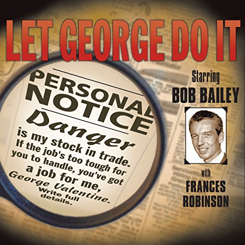 Let George Do It audiobook cover art