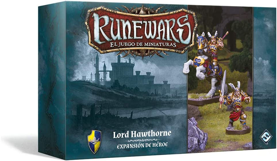 Fantasy Flight Games Runewars – Hawthorne Spanish Cheap mail order shopping Colour Lord lowest price