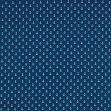 babrause ® Baumwollstoff Anker Mini Jeans Blau Webware