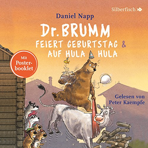 Couverture de Dr. Brumm feiert Geburtstag / Dr. Brumm auf Hula Hula